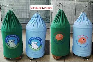 Fungsi Kerodong - Perawatan Burung Lovebird Dengan Menggunakan Kerodong - Pentingnya Kerodong Bagi Burung Lovebird