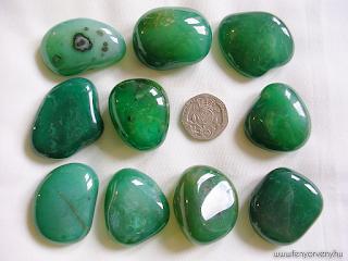 Kristálygyógyászat/Gyógyító kövek: Zöld achát