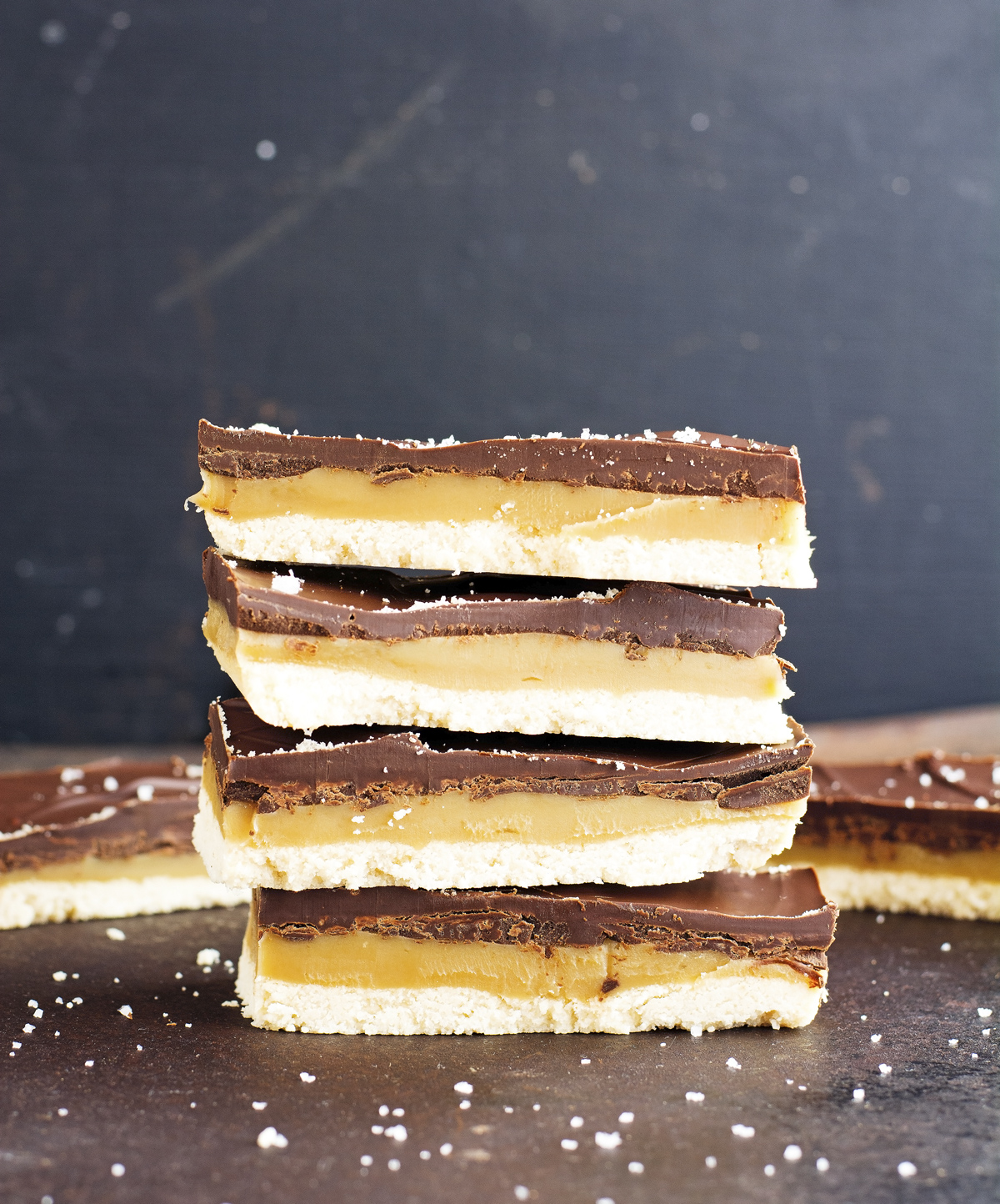 Homemade Twix Bars (Paleo & Vegan)