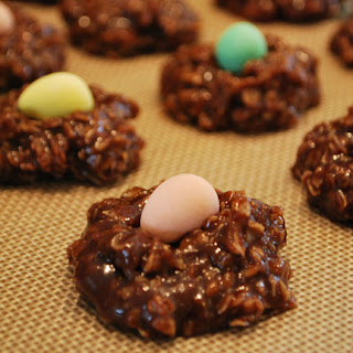 Easter Nest No-Bake Cookies: QuiltBee