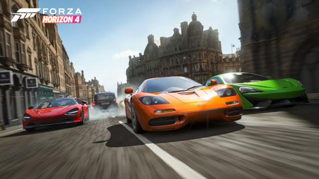 تجاوز عدد لاعبي Forza Horizon 4 المليوني لاعب فقط في اول اسبوع لها