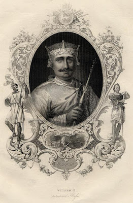 King William II, Image courtesy of ancestryimages.com
