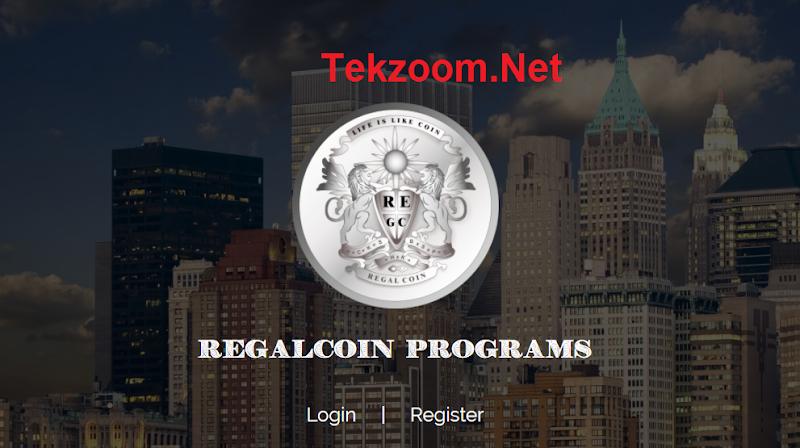 [SCAM] Regalcoin - Coin ICO giá trị Lending lên đến 45% hằng tháng - Tương tự Bitconnect