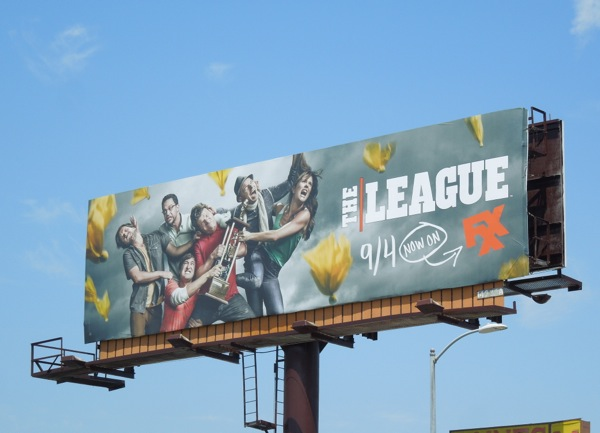 The League season 5 FXX billboard