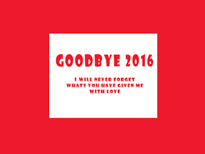 Bye Bye 2016 Photo with Quotes