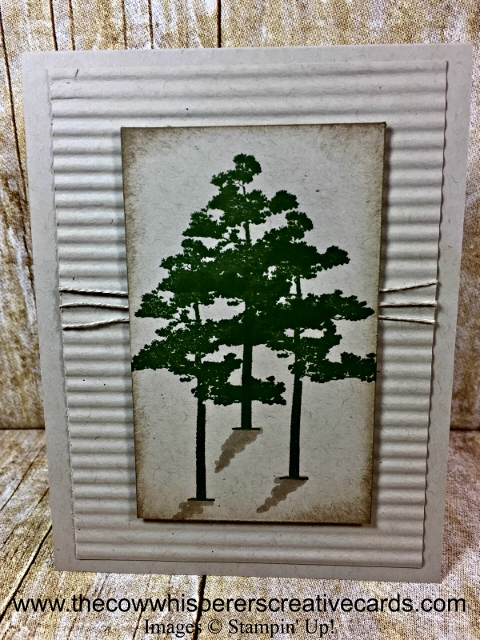 Card, Clean & Simple, Rustic, Rooted in Nature