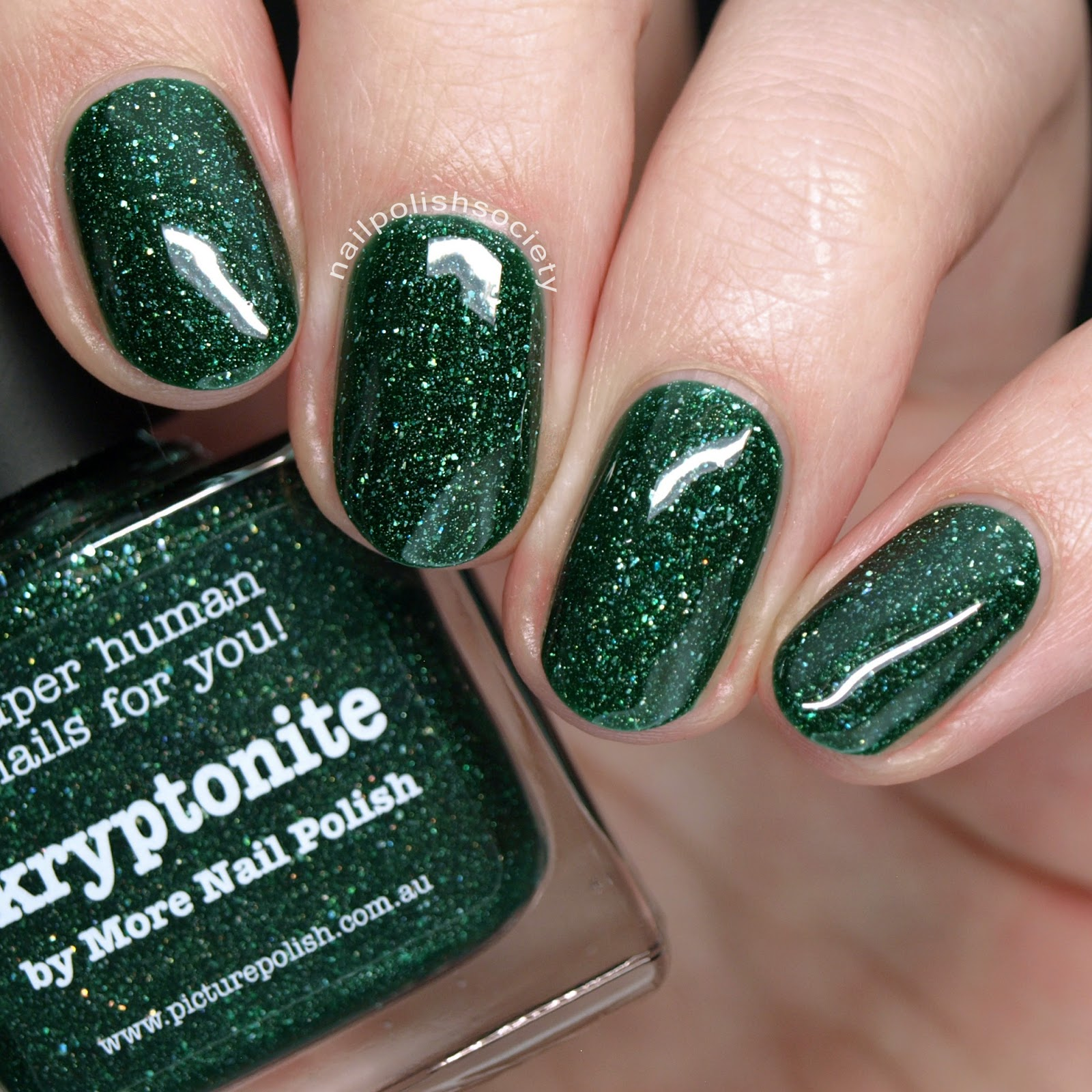 Nail Polish Society: 15 Gorgeous Green Nail Polishes for St ...