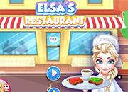 El restaurant de Elsa Frozen juego