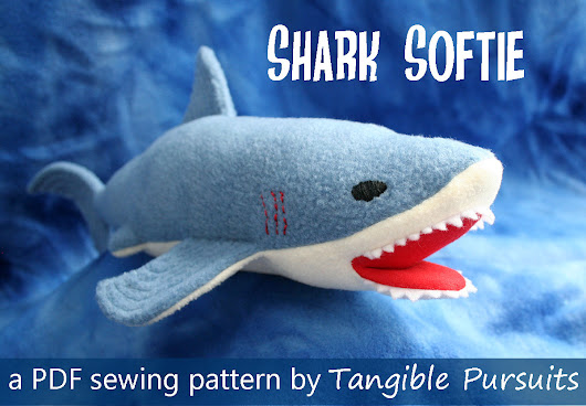 Shark Softie Pattern Release and Giveaway!