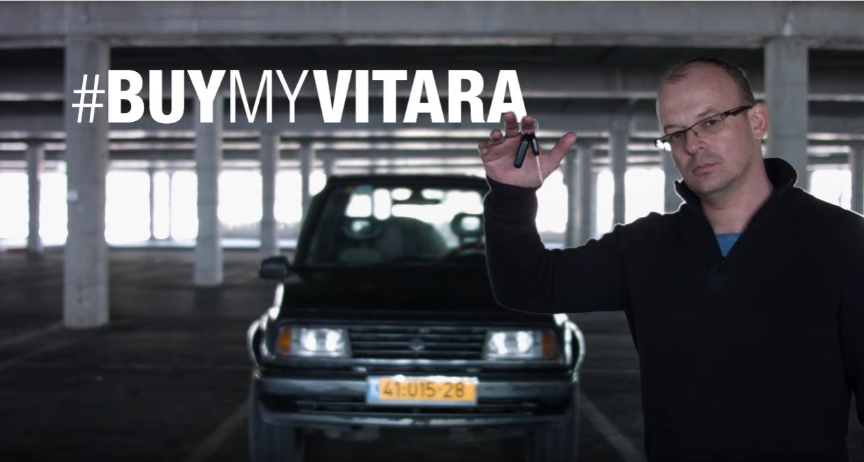 watch this unbelievable advertisment for this 1996 suzuki vitara buymyvitara [ 1262 x 675 Pixel ]