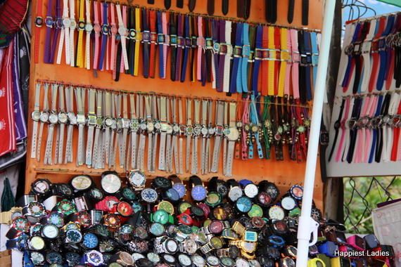 Street vendors chamundi hills 3