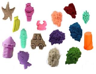 طريقة عمل رمل سحري متحرك-كيفية صنع رمال سحرية متحركة ملونة-العاب للاطفال في المنزل