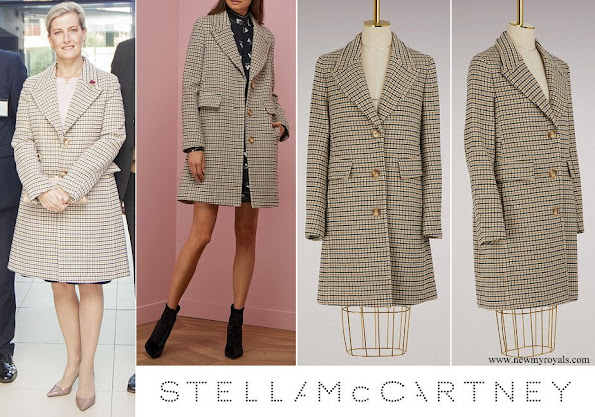 Countess Sophie of Wessex wore Stella McCartney Marcelline wool coat