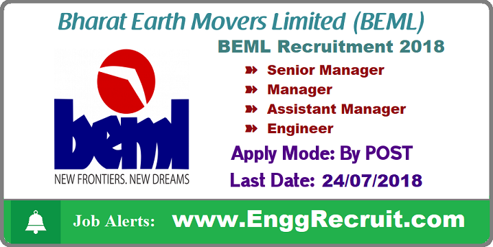 BEML Recruitment 2018