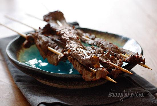Paleo Asian Steak Skewers
