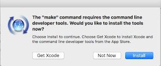 Nos pedirá la instalación de las developer tools