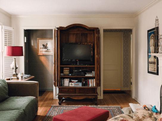 warna cat rumah nampak luas, warna cat rumah yang nampak luas, bilik tidur kecil nampak luas, Ruang tamu kecil nampak luas