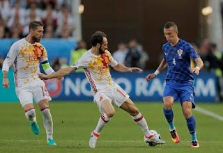 اهداف مباراة اسبانيا  و كوراتيا 1-2 || هدف كوراتيا القاتل ضد اسبانيا ||