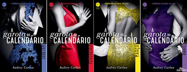 Série A Garota Do Calendário | Audrey Carlan @verus_editora
