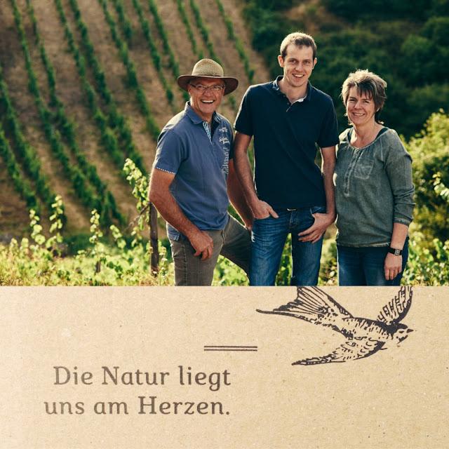 Winzerfamilie Georg, Margit und Johannes Forster