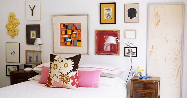 Gallery wall a nova tend ncia em decora o decora o e - Decoracion de paredes de dormitorios ...