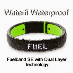 Waterfi Waterproof + Fuelband SE with Dual Layer Technology