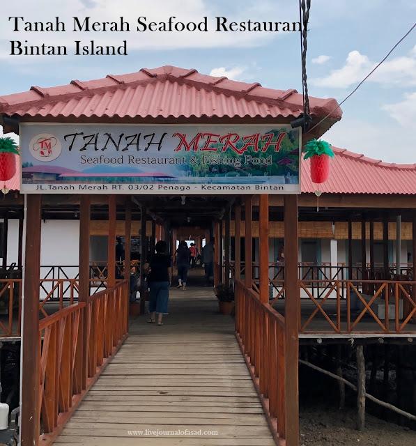 Restoran Seafood Enak Bintan Tanah Merah Seafood Restaurant & Fishing Pond