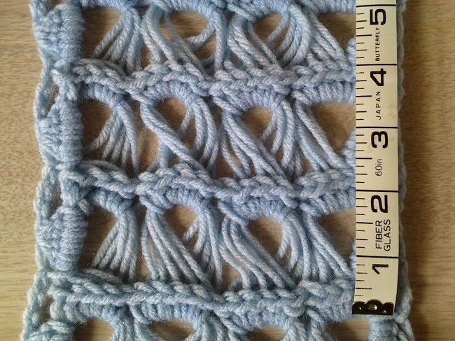 Crochet Is The Way Free Pattern Frost Flower Scarf