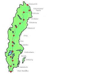 karta karesuando Cykla Karesuando Ystad 2011 Långfärdscykling: Kartor karta karesuando