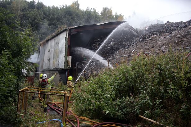 Lockwood tip fire: Businesses hit out over 'wall of silence' from Kirklees Council