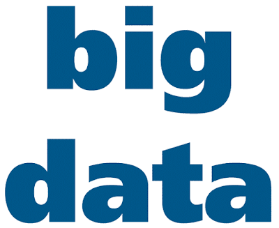 A meaningless graphical representation of big data