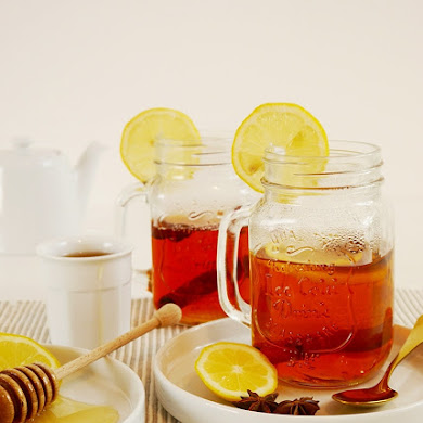Spiced Earl Grey Hot Toddy Drink Recipe