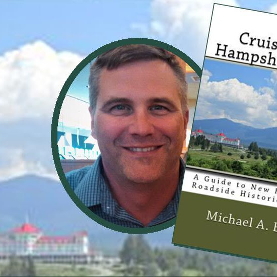 #FarmingtonNH Friday, April 5th, 7:15PM - Author, Michael Bruno -Crusing #NewHampshire #History