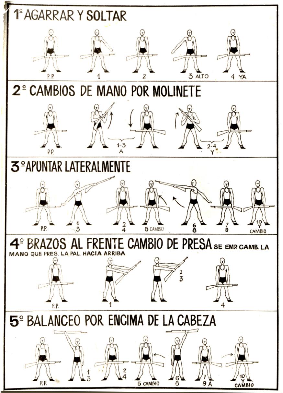 Zoilolobo retrodezcan hoya fr a febrero de 1969 for Tabla de ejercicios para adelgazar