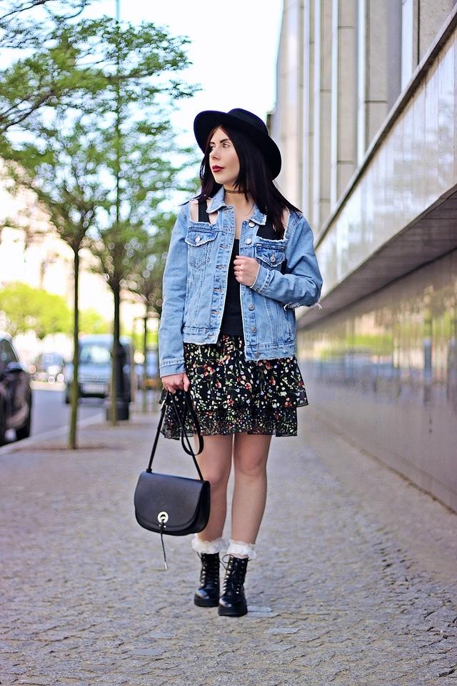 styl grunge na wiosnę jak nosić