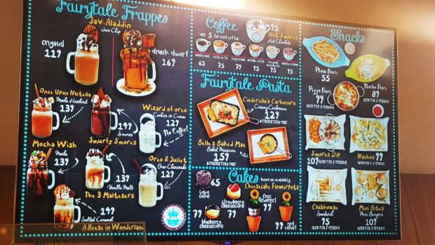 menu, amo yamie crib, price list