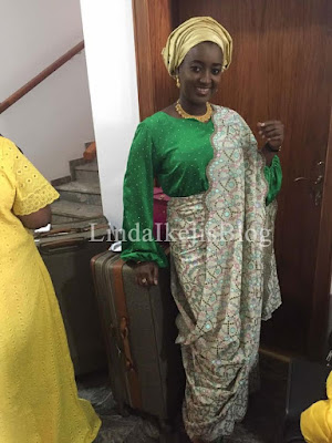 BREAKING!!! SEE WHAT PRESIDENT BUHARI'S BILLIONAIRE IN-LAWS DID TO MARRY ZAHRA (PHOTOS)