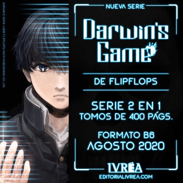 Manga: Ivrea anuncia la licencia de Darwin's Game obra de FLIPFLOPs