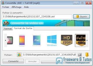 Convertilla : logiciel de conversion en français