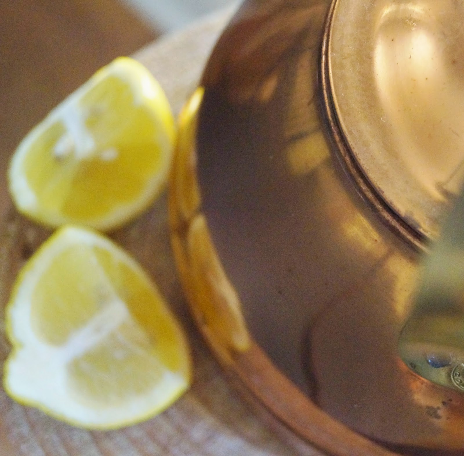 You Can Also Shine Copper With A Lemon Then Toss The Rind