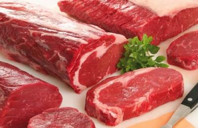 Thịt bò thái lát lớn