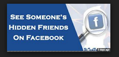 How to View Friendship on Facebook 2017