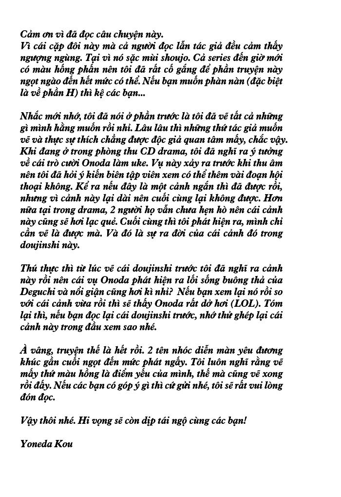 Dù Thế Nào Em Vẫn Yêu Anh--EXTRA 1--[ShuShi Group] - Tác giả Yoneda Kou - Trang 20