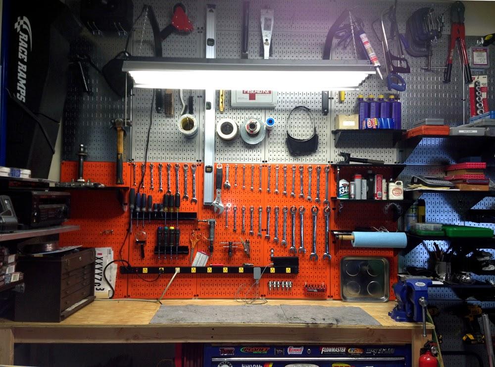 Garage Organization Pegboard