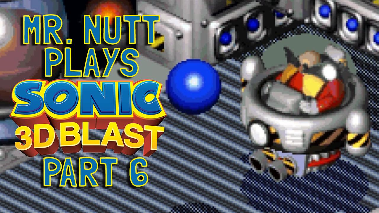 Mr  Nutt's Blog of Stuff: Let's Play: Sonic 3D Blast Part 6