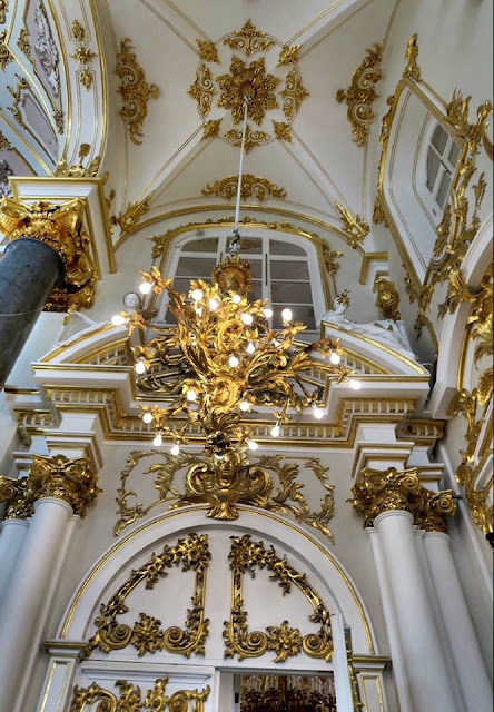 St Petersburg Hermitage interior
