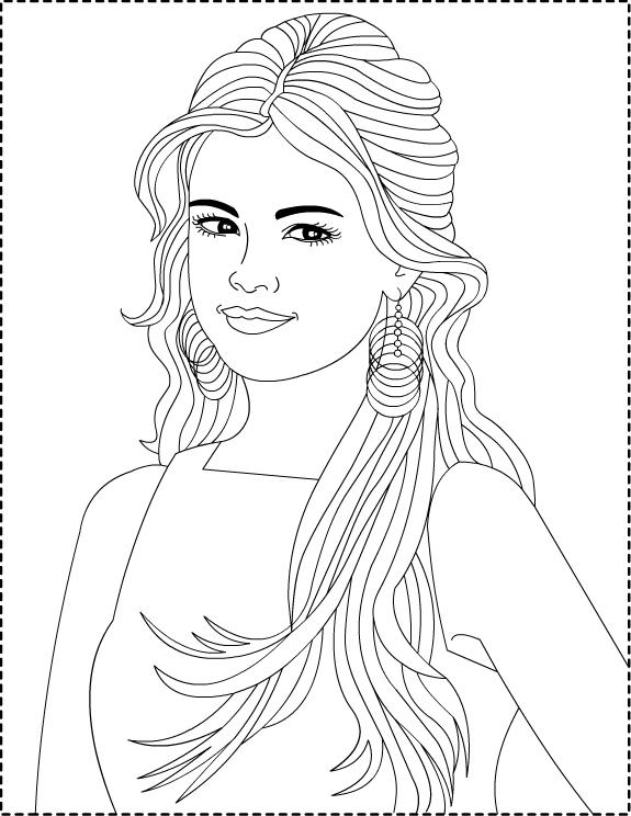selena gomez e vc: desenhos