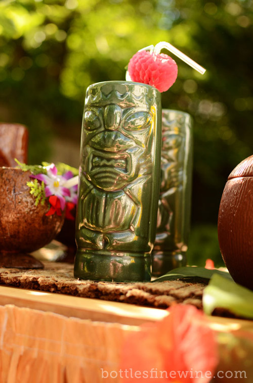 making a tiki bar at home