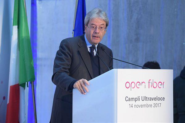 Gentiloni: crescita italiana sta accelerando