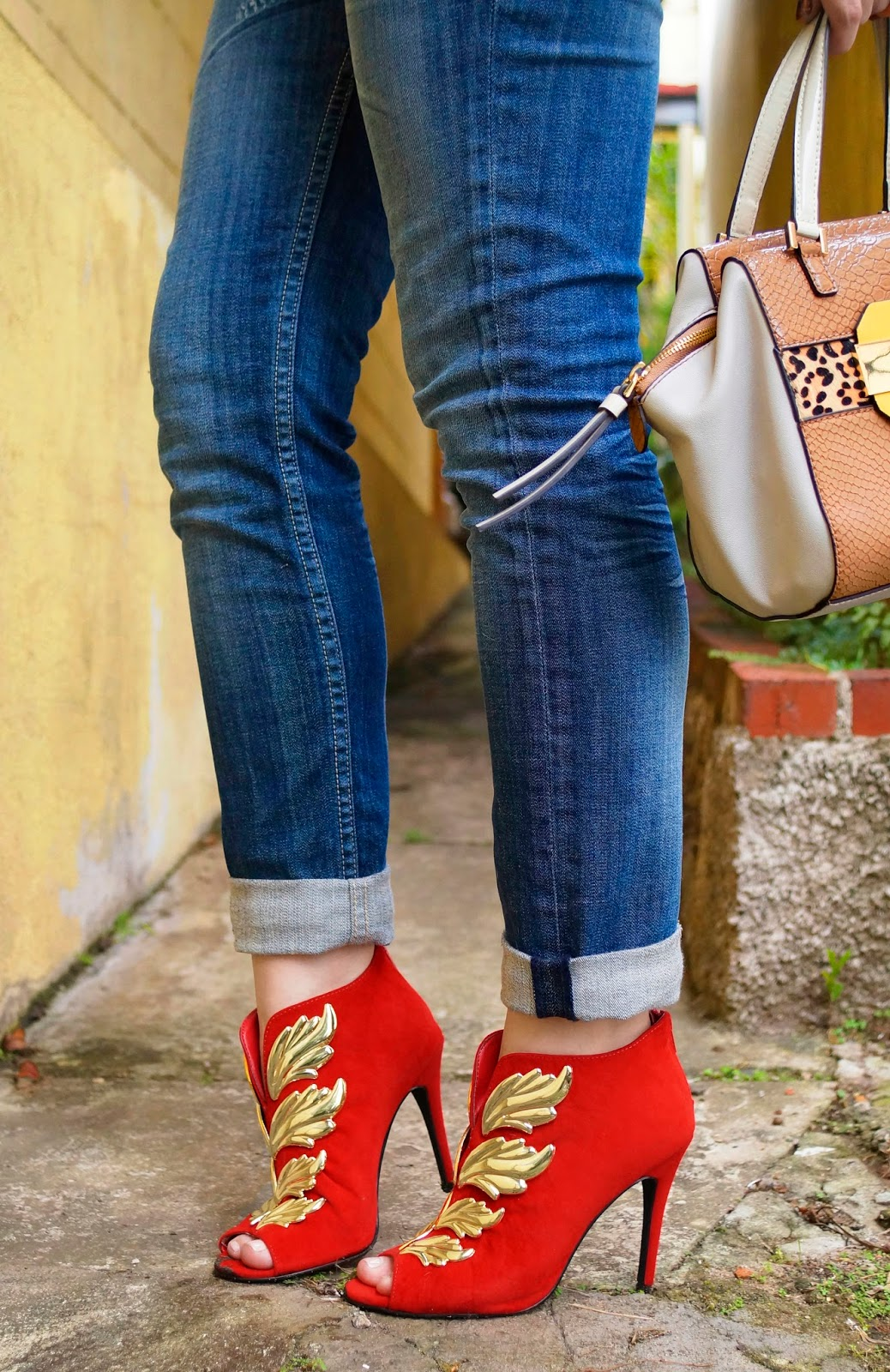 Fabulous Shoes, Red Booties